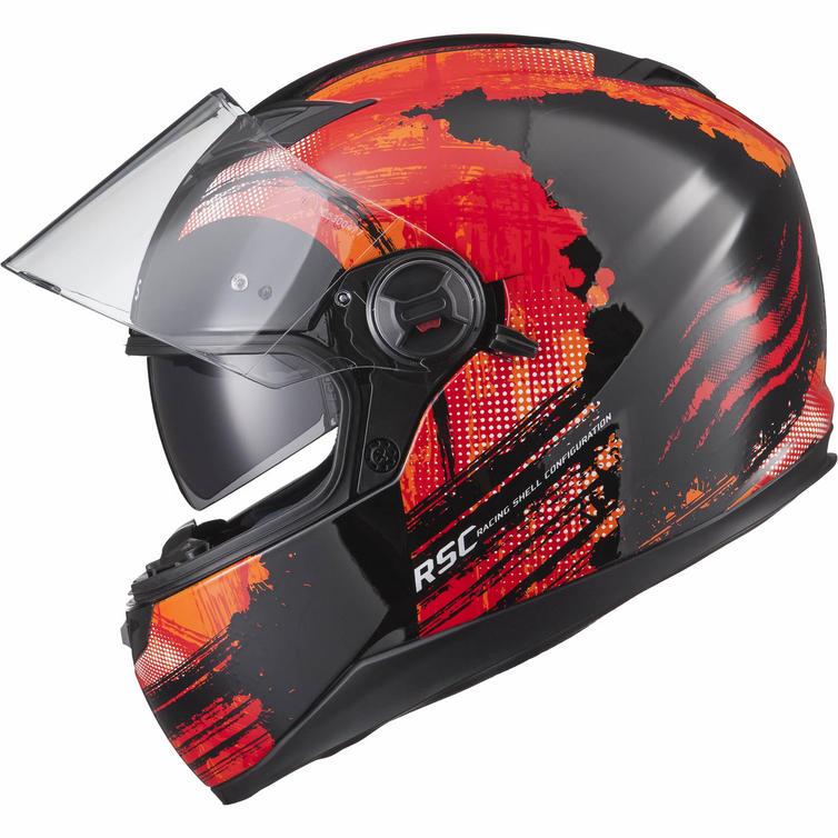 AGR Rage SV Claw Orange 51017-0303 mc hjälm - Sharkspeed 73510b834190c
