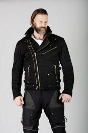 Kevlar touring denim mc jacket