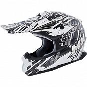 MX Force Race Shiver 143450104 Black cross hjälm