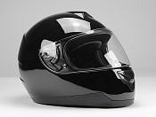 BNO INTEGRAL F500 GLOSSY BLACK Mc hjälm