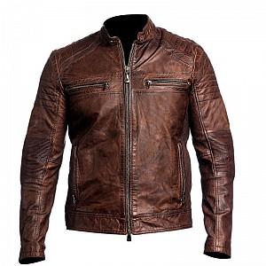 ATA Måttsydd Ghost Vintage Jacka + Torino Brown Skinnbyxa