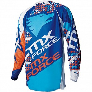 MX Force Kalos Trump Motocross Blue 143530306 crosströja