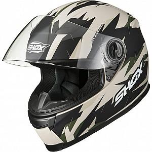 Shox Sniper Predator Matt Sand 146501603 mc hjälm