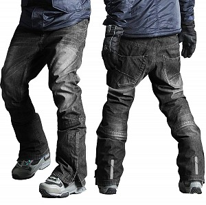 SNOW ATV / SKI / ENDURO KEVLAR DARKGREY DENIM BYXOR