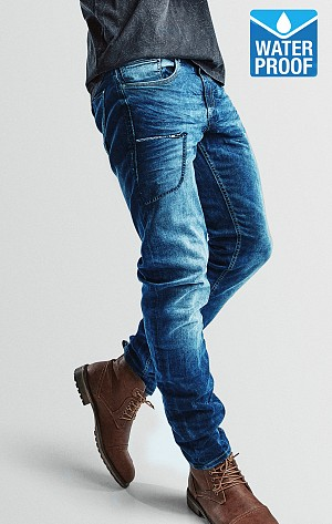 KEVLAR VATTENTÄT COMMANDER ORIGINALBLUE MC JEANS BYXA OBL1
