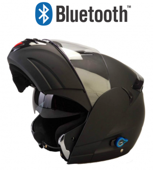 V270 Bluetooth Matt mc hjälm