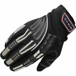 Black Claw Motocross Gloves svart 5234-0106 Motocross HANDSKAR