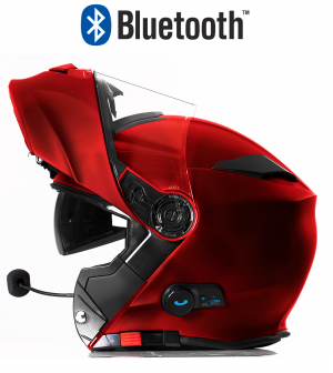 BLINC BLUETOOTH DARKRED RS983 STEREO MC HJÄLM