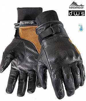 DUAL WEATHER VINTAGE RIDER WATERPROOF MC HANDSKAR
