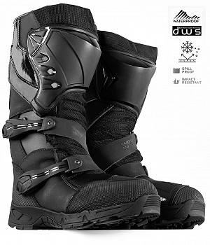 SNOWBIKE ULTIMATE ATV BLACK BOOTS MC ATV STÖVLAR