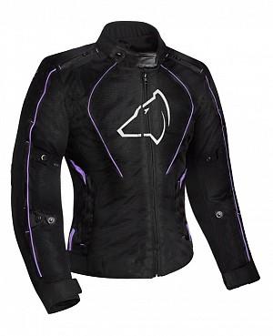 Lady Agrius Gemini Motorcycle BLACK/PURPLE 51033-0404 MC JACKA